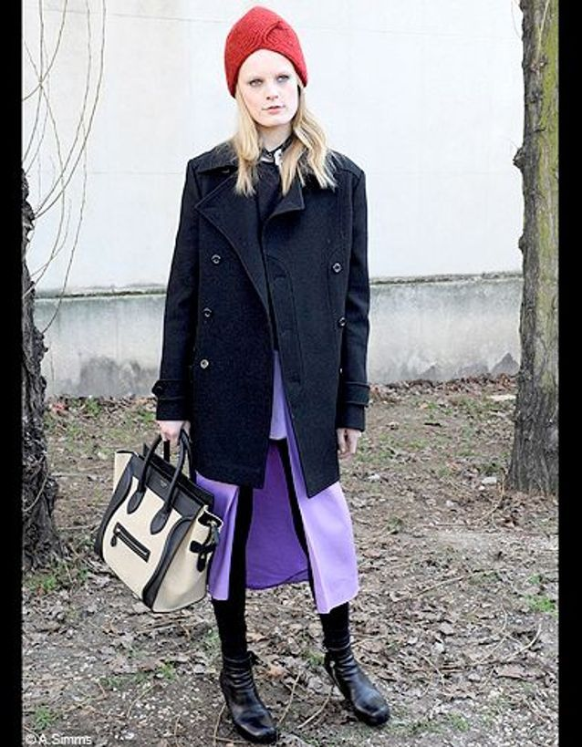 Mode street style look tendance chapeau smart lady
