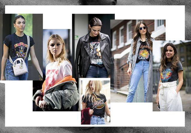 Street tstyle : comment twister son look avec un t-shirt rock