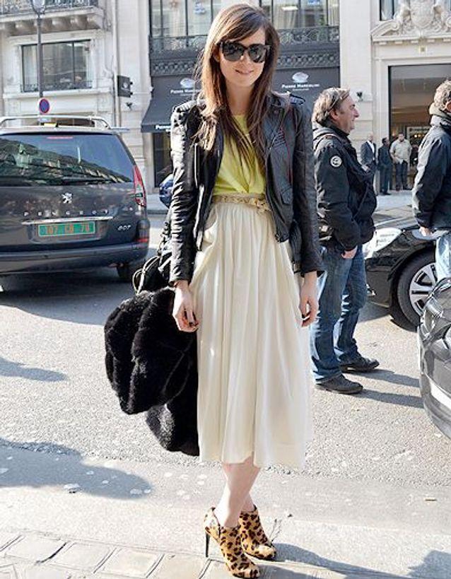 Mode street style look tendance jupe longue 1