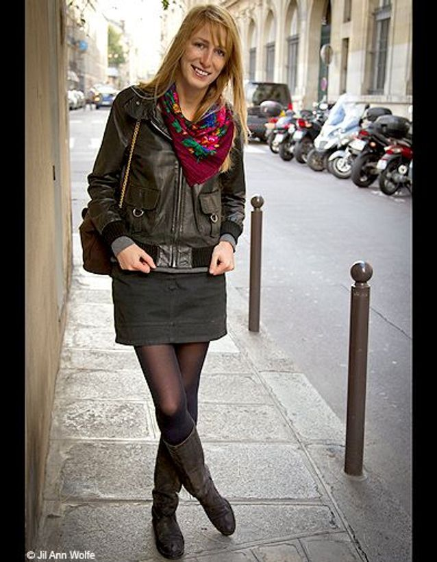 Mode street style look rue tendance foulard rock boheme f8b662aba99