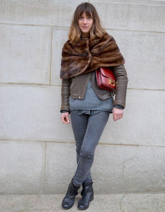 Aurelie gaillard street style fashion week