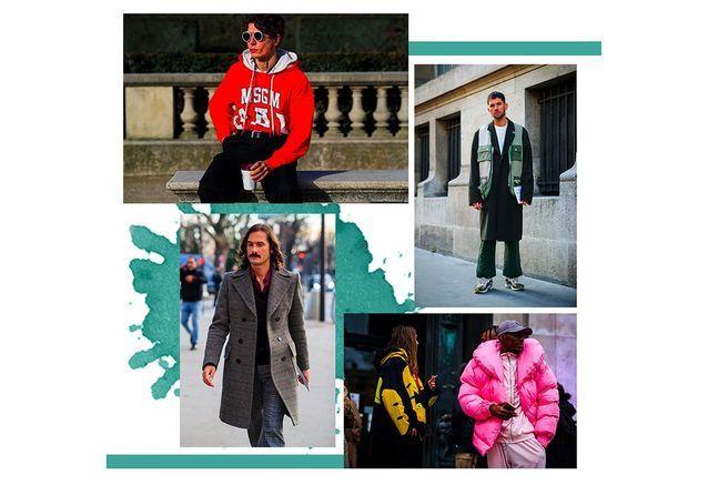 Street style : les mecs lookés repérés pendant la Fashion Week homme