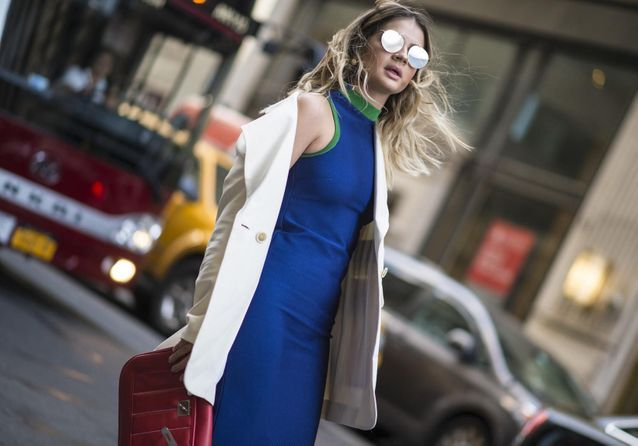 Street style : 30 façons de porter le bleu