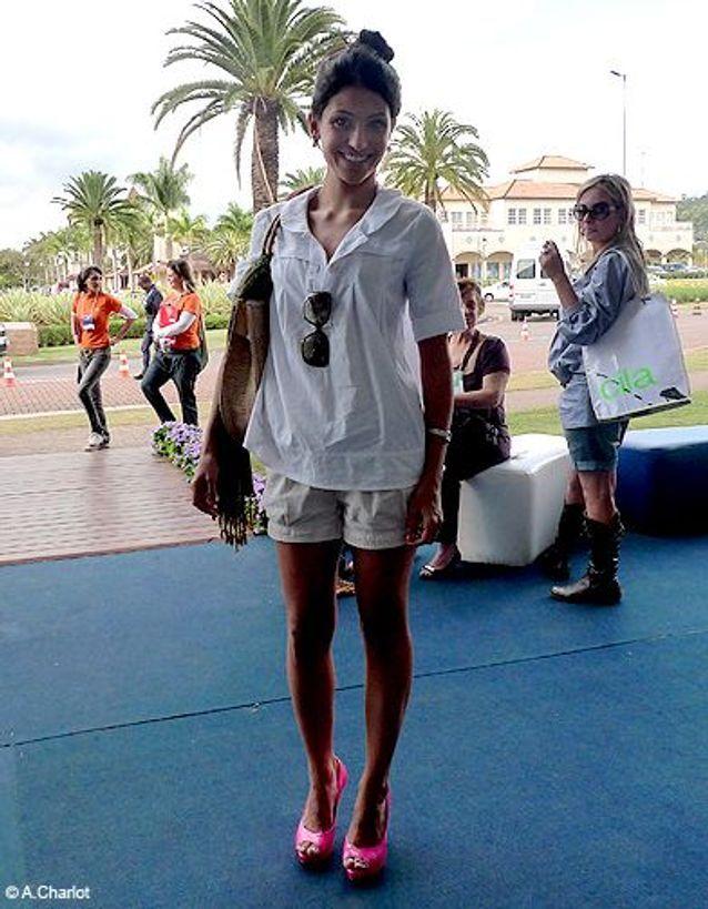 Mode look tendance street style bresil chaussure rose