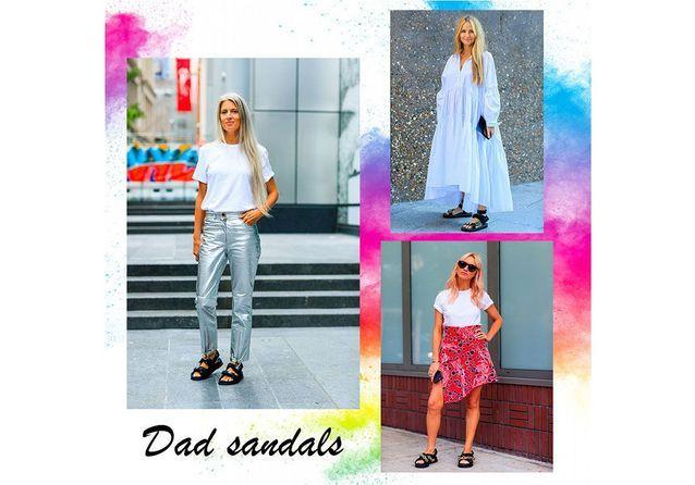 Street-style : comment porter les « dad sandals », tendance phare de l'été ?