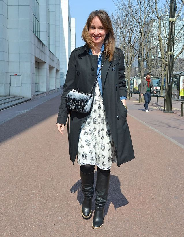 Erin Doherty rédactrice en chef mode du journal ELLE