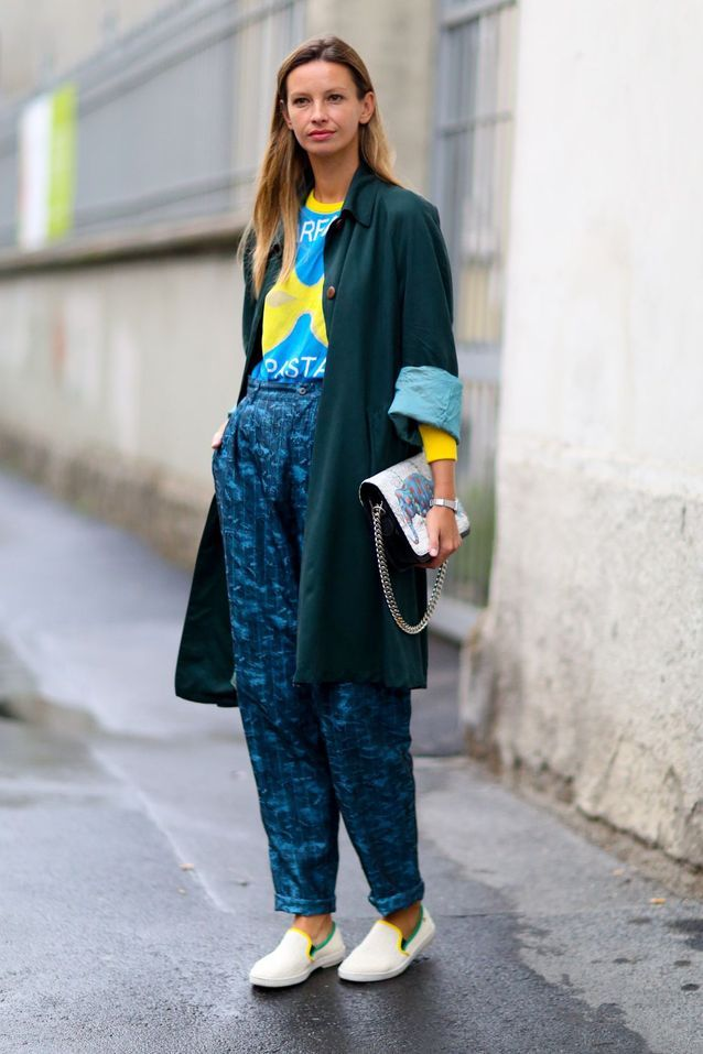 style casual chic - street style : 20 filles qui portent bien le
