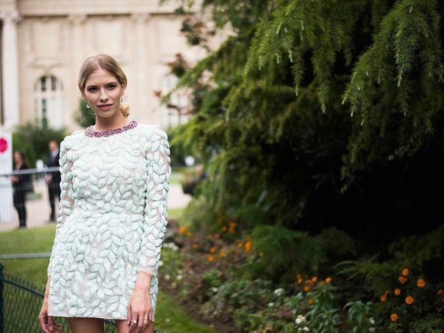 92c324bdd5b Une robe au printemps   avec ou sans collants   - Elle
