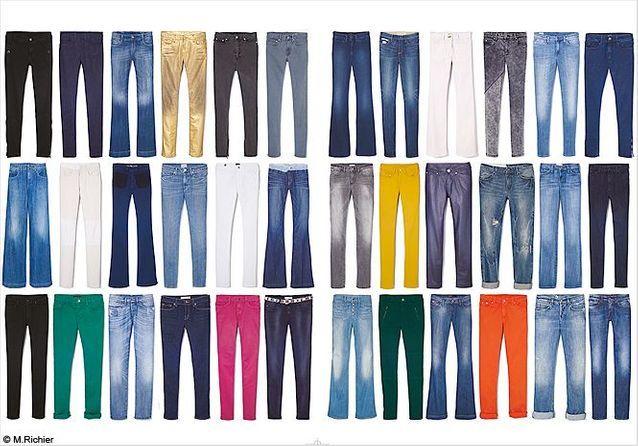 Mode d'emploi : le jean qui change tout !