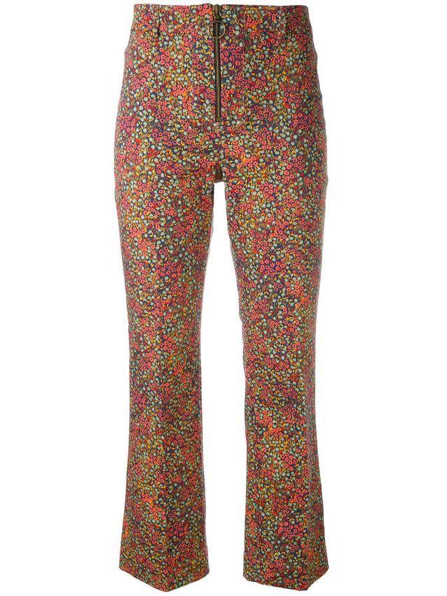 Pantalon à fleurs Philosophy Di Lorenzo Serafini