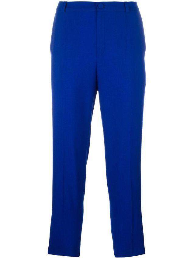 Pantalon ajusté color block Lanvin