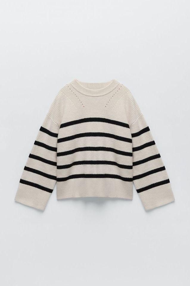Pull marinière Zara