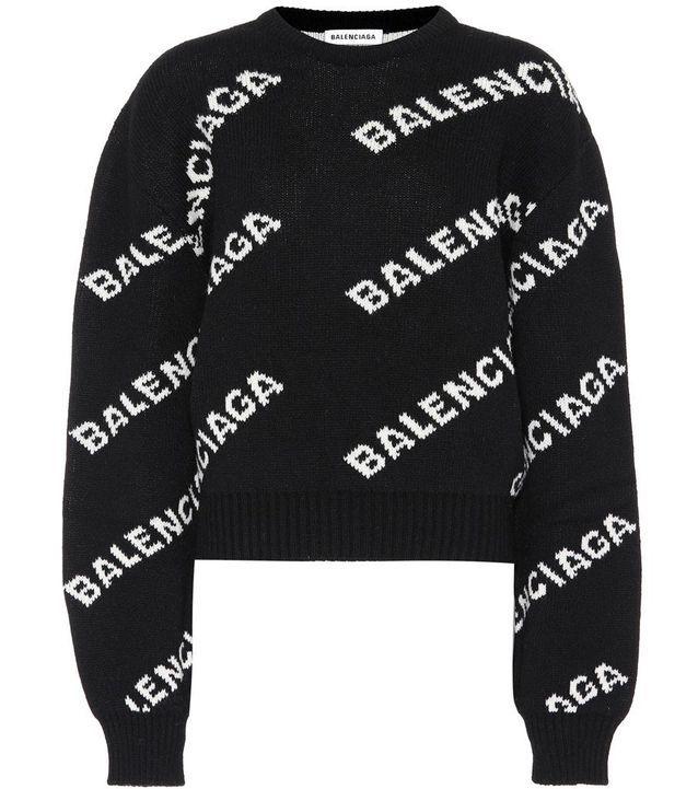 Pull en laine Balenciaga sur My Theresa