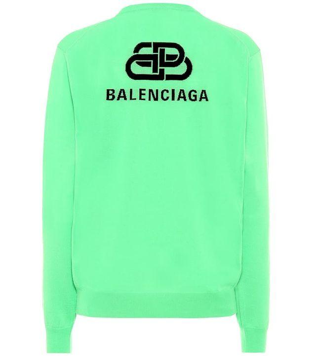 Pull en laine Balenciaga