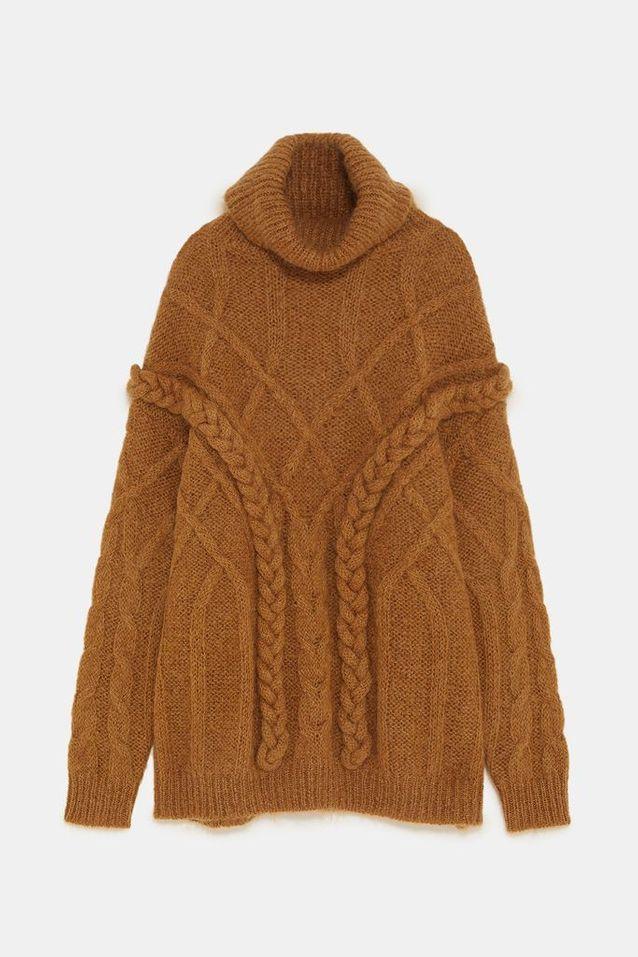 Pull en laine Zara
