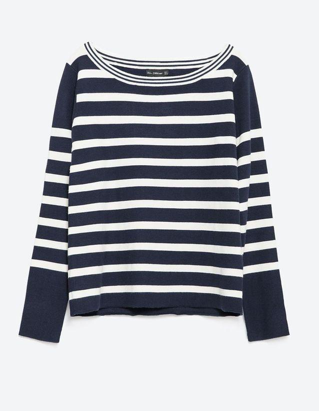 Pull marin Zara