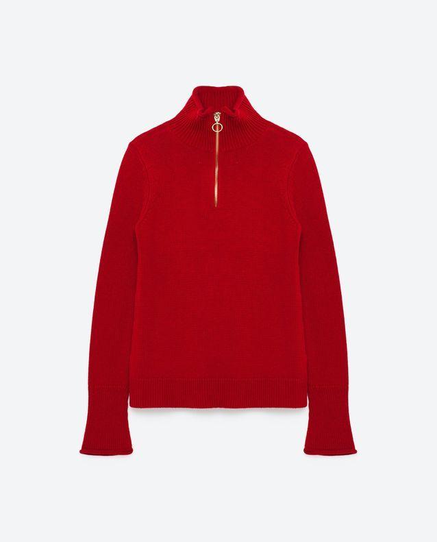 Pull rouge Zara