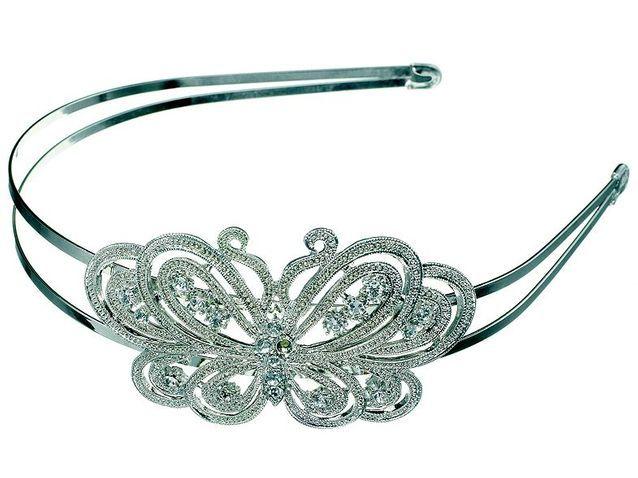 gamme complète de spécifications 60% pas cher la clientèle d'abord Claire's papillon - Mariage : accessoires pour les cheveux ...