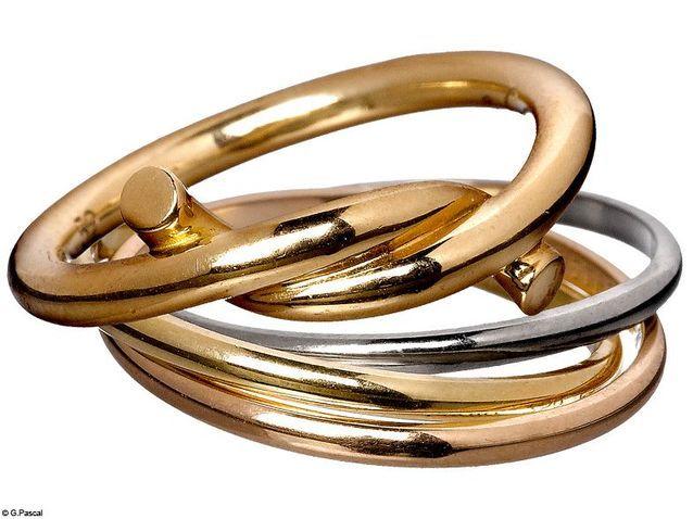 Mode diaporama accessoire bijoux mariage alliance cartier