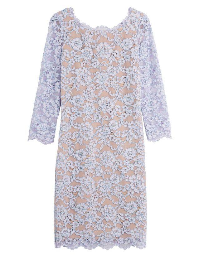 Robe de cérémonie en dentelles Diane Von Furstenberg