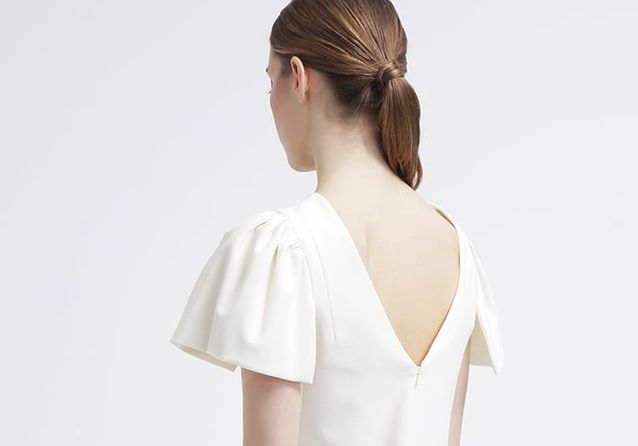 15 robes dos nu pour faire de l'effet des deux côtés