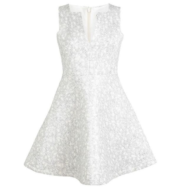 Robe blanches brodée Miss Selfridge