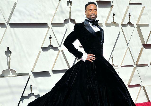 Histoire d'une tenue : la robe-smoking de Billy Porter aux Oscars 2019