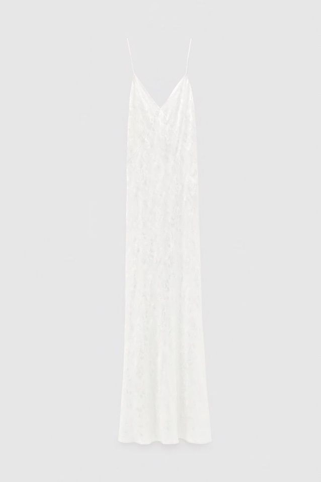 Robe jacquard à fleurs, Zara