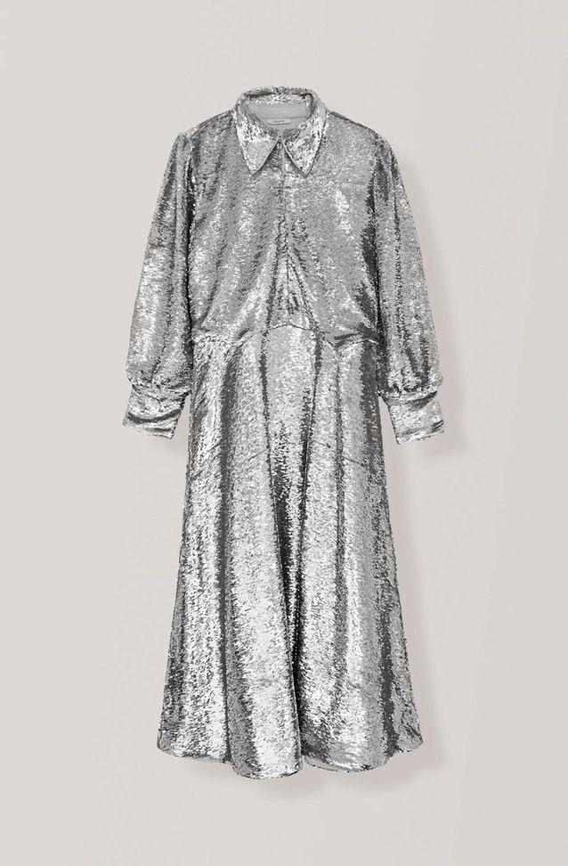 Robe à paillettes Ganni