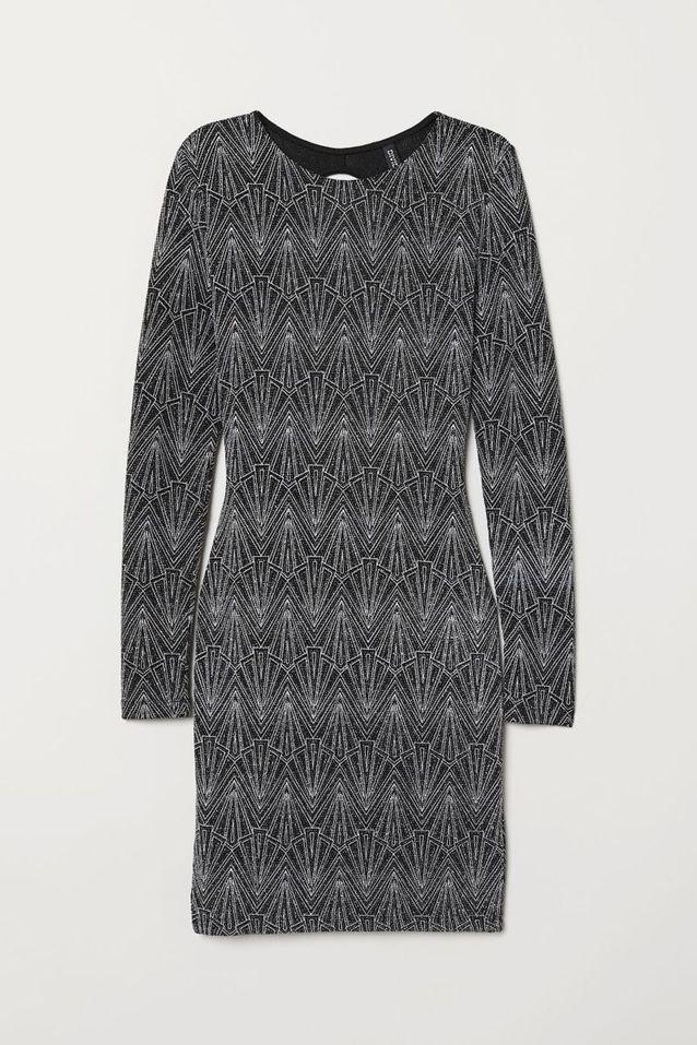 Robe à paillettes H&M