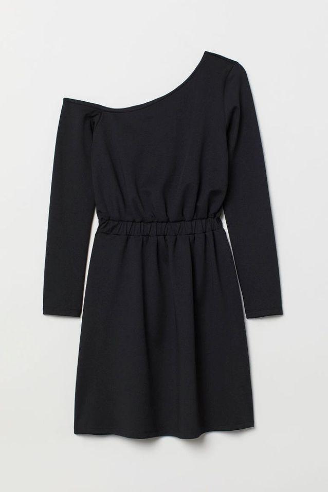Robe asymétrique H&M