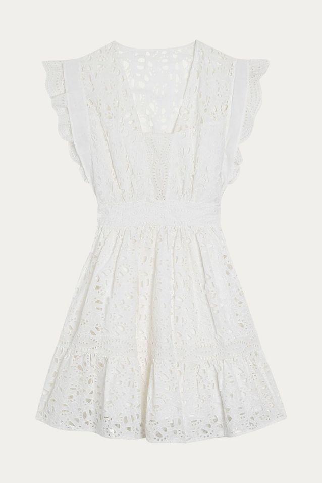 Robe blanche Ba&sh