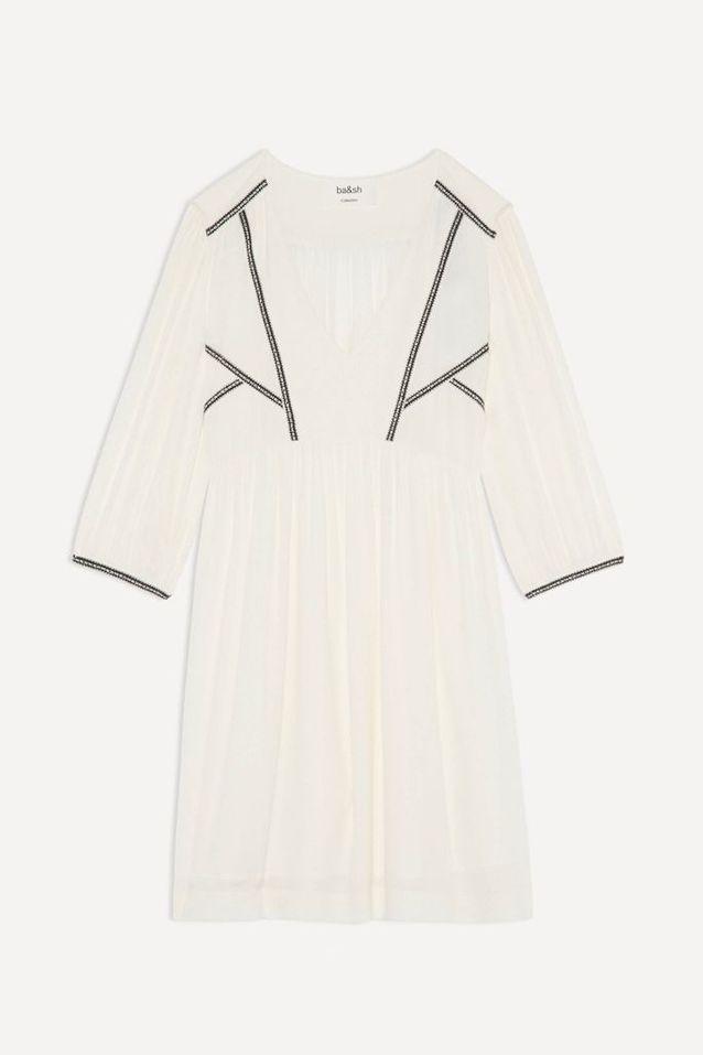 Robe blanche fluide Ba&sh