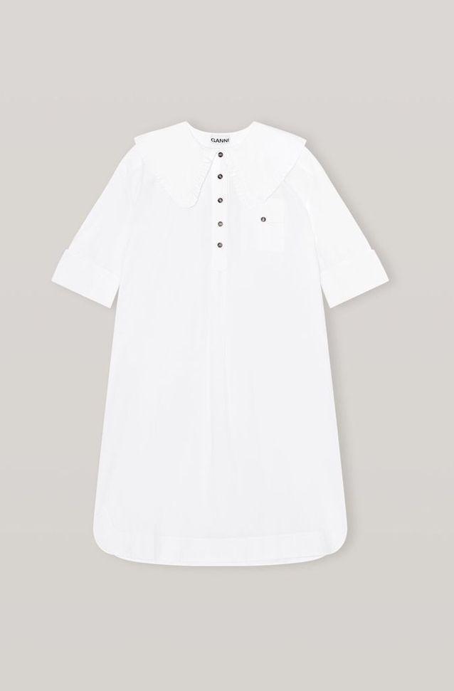 Robe blanche Ganni