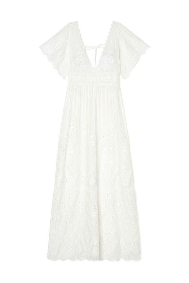 Robe blanche Louise Misha