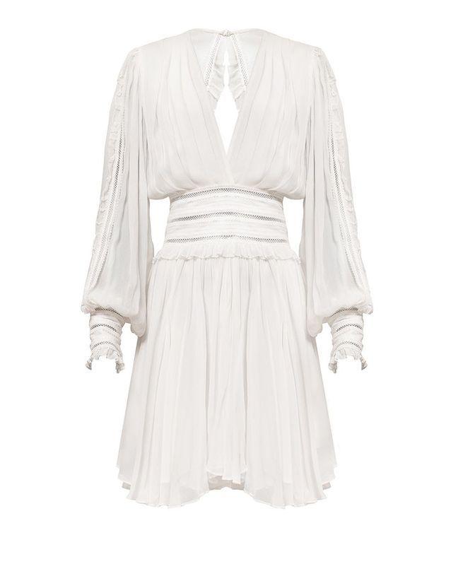 Robe blanche Magali Pascal