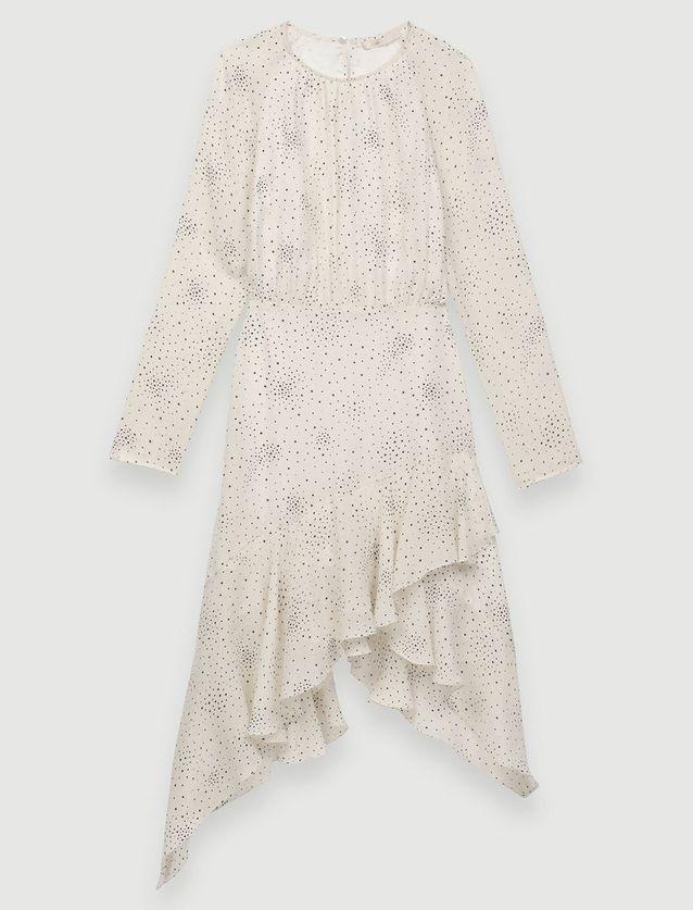 Robe blanche Maje