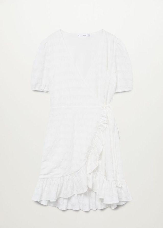 Robe blanche Mango