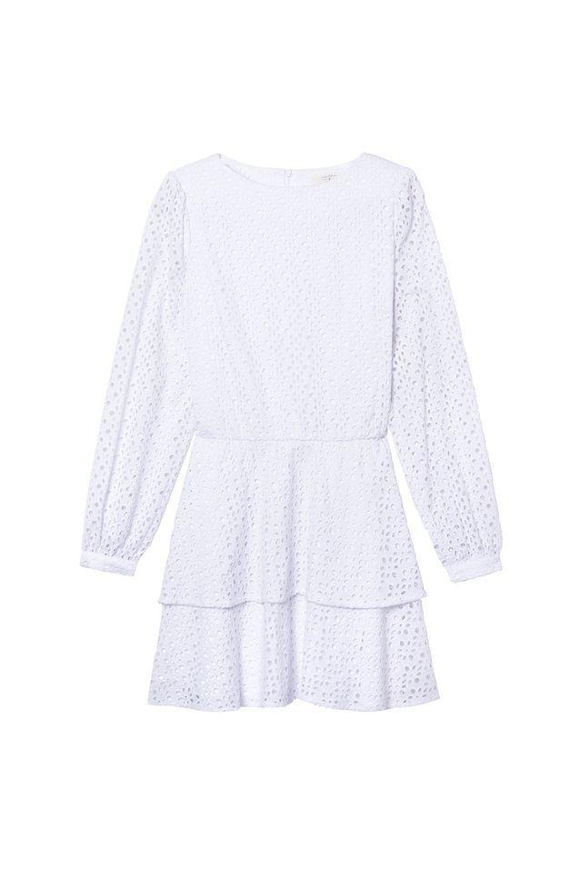 Robe blanche Parisienne et alors