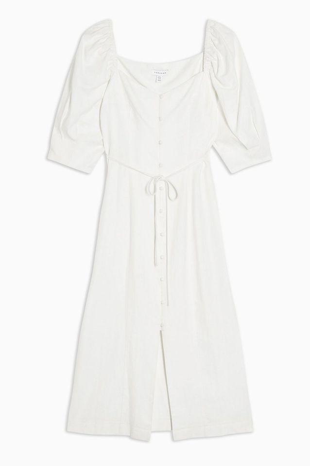 Robe blanche Topshop