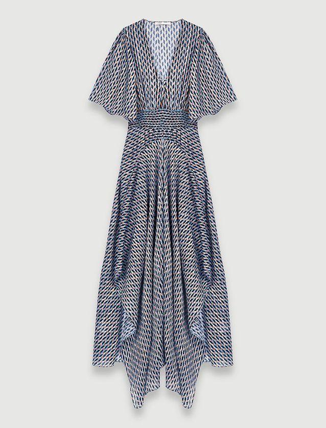 Robe bohème longue Maje