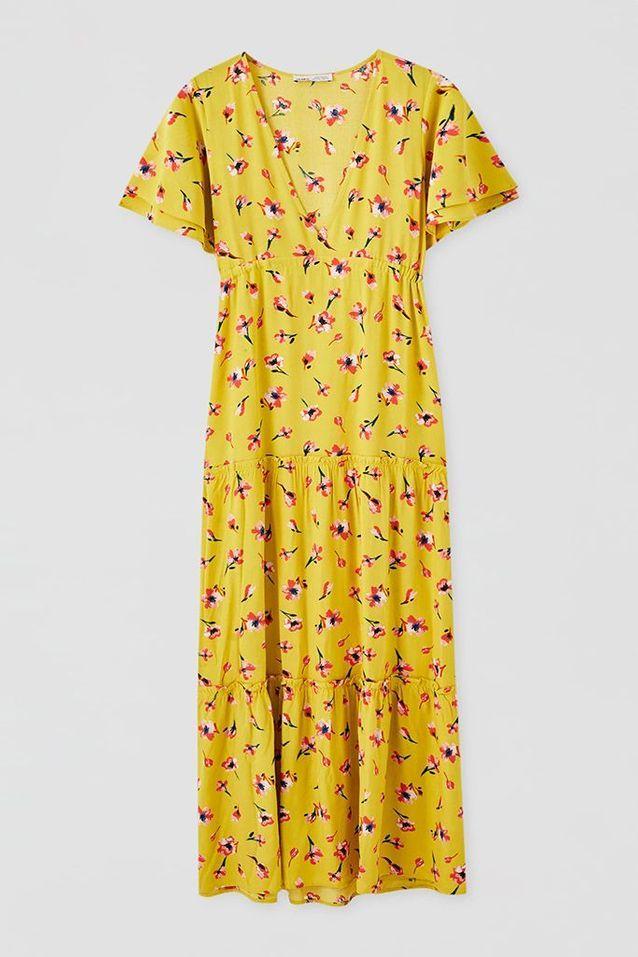 Robe bohème Pull&Bear