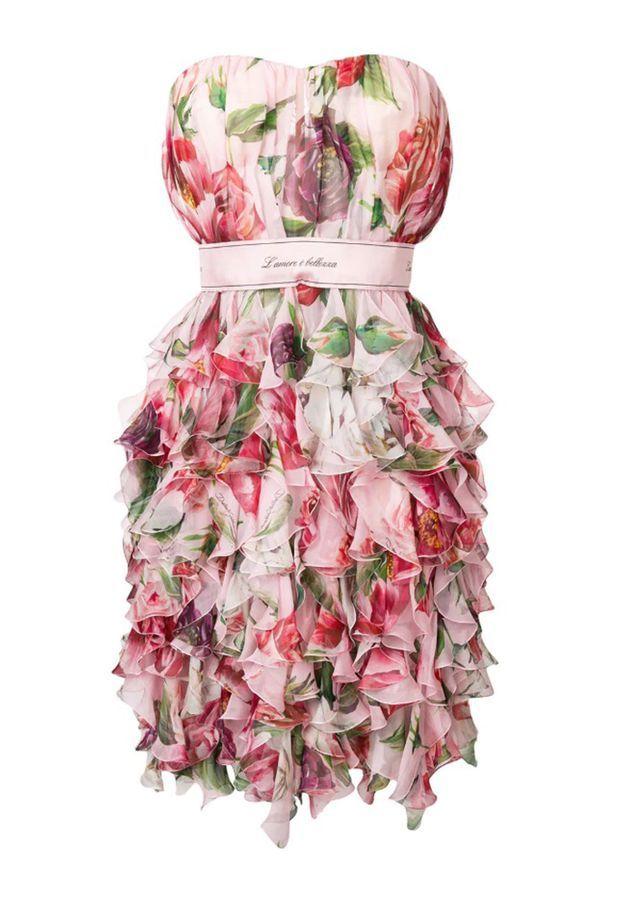 Robe bustier Dolce & Gabbana sur Farfetch