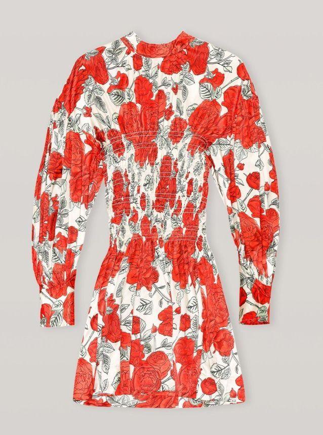 Robe courte Ganni