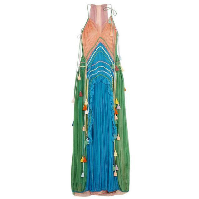 Robe de plage colorée Chloé