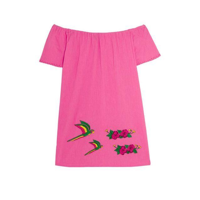 Robe de plage rose Sensi Studio