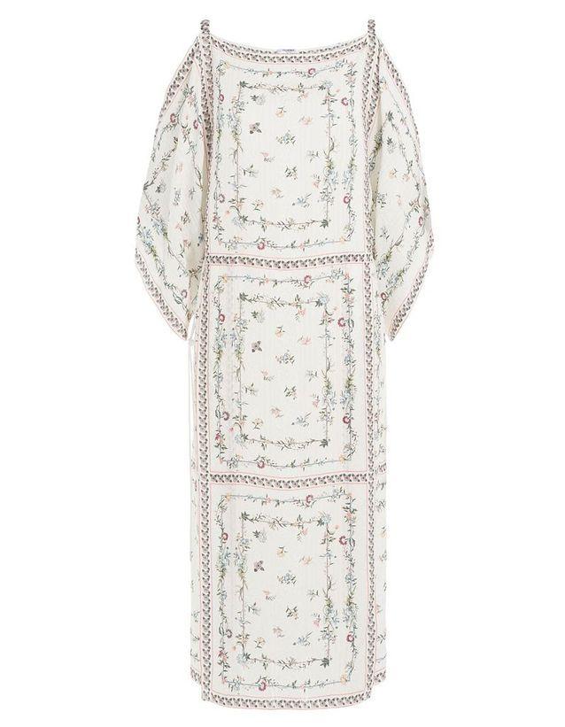 Robe en soie perlée Vilshenko