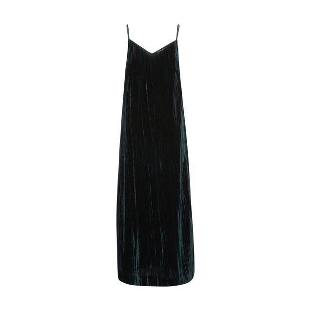 5202f72c12f Robe en velours à fine bretelle Monoprix - 25 robes en velours qui ...