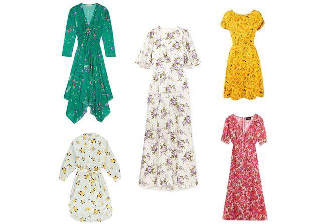 25 robes fleuries pour faire venir l'été