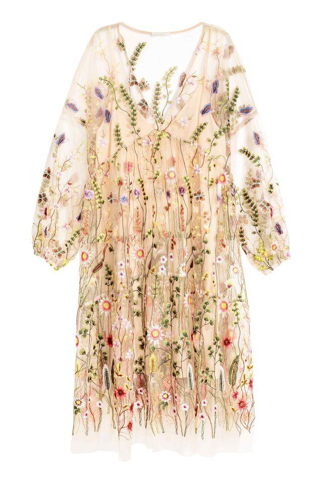 Robe fleurie H&M